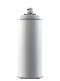 Botella de spray aislado en blanco