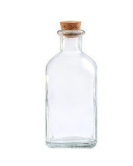 Botella de vidrio para leche y mantequilla
