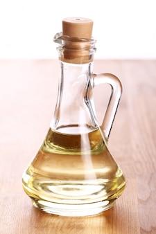 Botellas con aceite