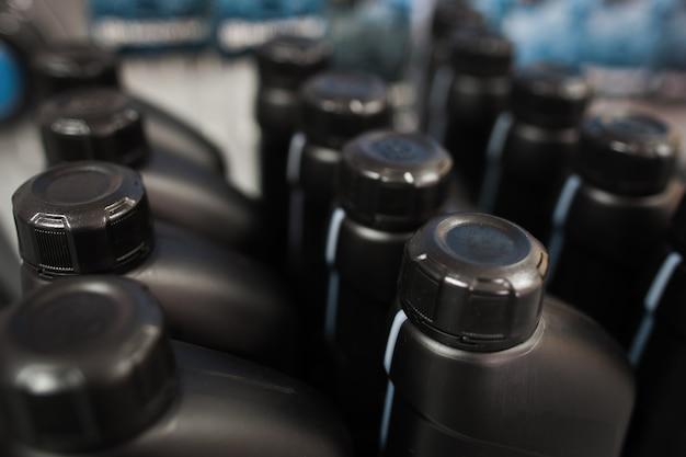 Botellas de plástico de aceite de motor
