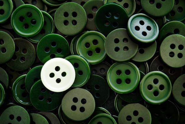 Botones de camisa de cerca