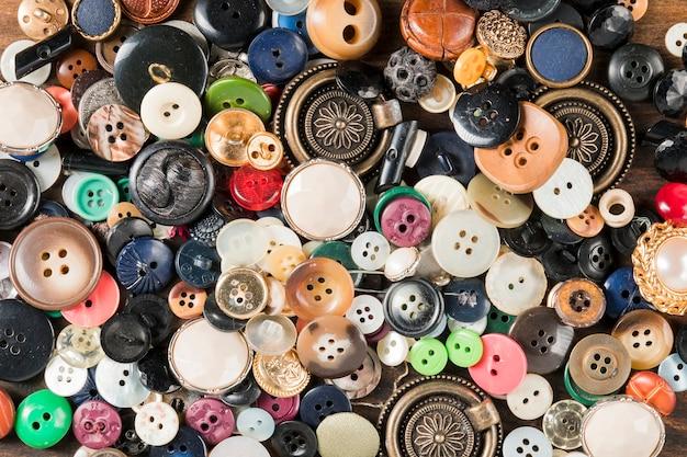 Botones de costura
