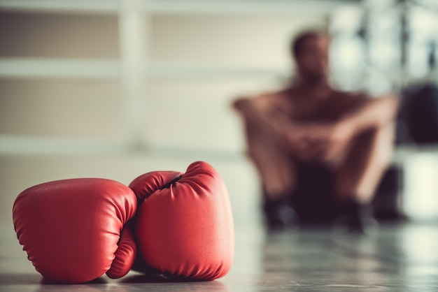 Boxeador afroamericano