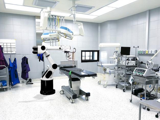 Brazo robot médico la tecnología de inteligencia artificial del tratamiento del paciente