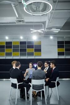 Briefing de profesionales