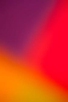 Brillantes colores cálidos en la abstracción