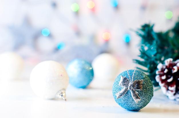 Brillo festivo decoración de navidad