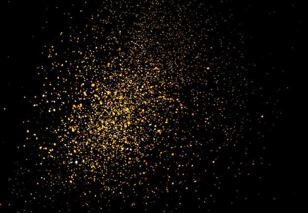 Brillo de oro bokeh colorfull borrosa fondo abstracto
