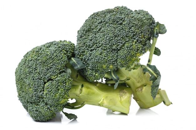 Brócoli en la mesa