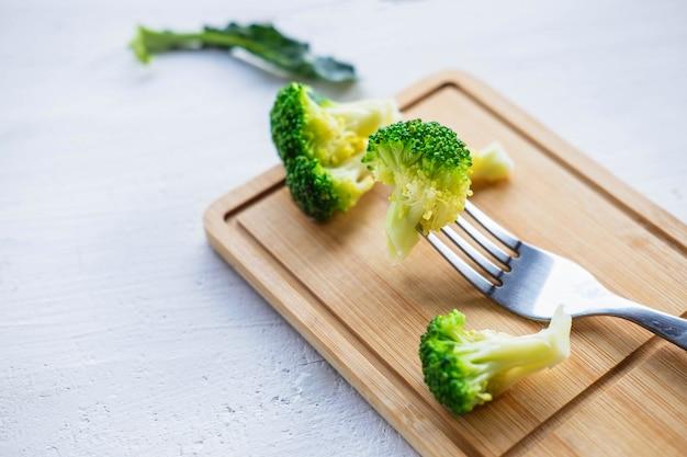 Brócoli vegetales para la salud