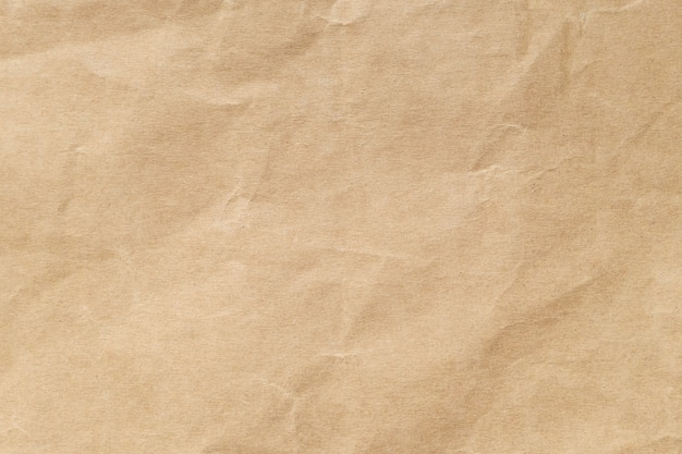 Brown arrugó la textura de papel para el fondo.