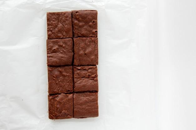 Brownie de chocolate hecho en casa
