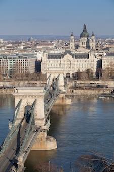 Budapest hungría en el centro de la ciudad