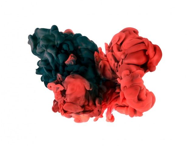 Buena idea concepto color abstracción, espacio macro mundo.