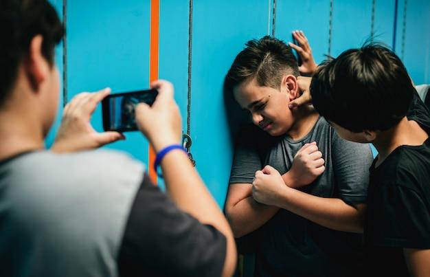 Bullying en el pasillo