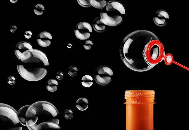 Burbuja de jabón abstracto