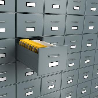 Buscar documentos, archivar