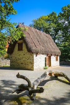 Cabaña tradicional en estocolmo, suecia