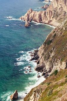 Cabo da roca rocas y mar