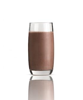 Cacao o chocolate helado en blanco