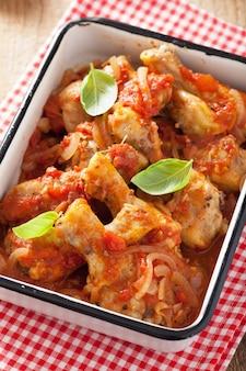 Cacciatore de pollo italiano