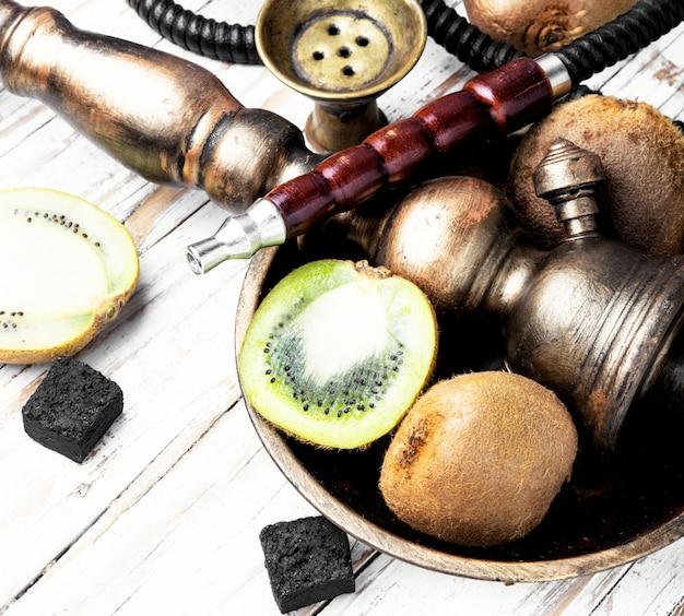 Cachimba shisha con kiwi