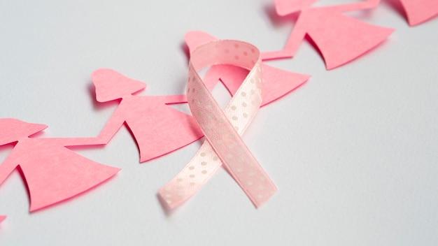 Cadena de papel chicas con cinta