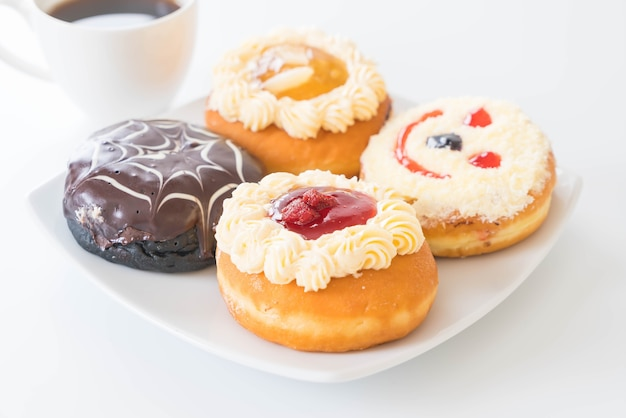 Café y donuts