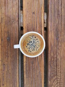 Café fuerte y delicioso
