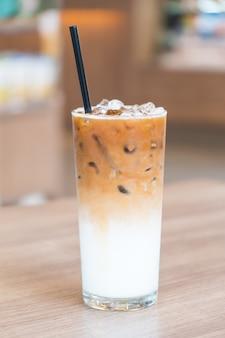 Café latte helado