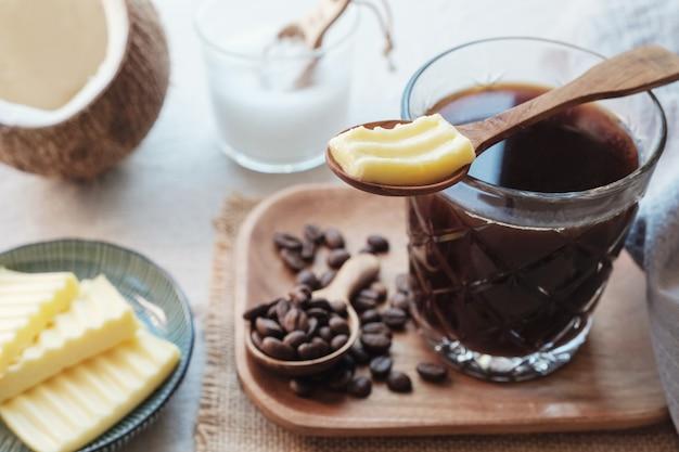 Café a prueba de balas, comida cetogénica.