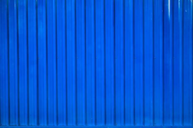Caja azul contenedor línea rayada fondo