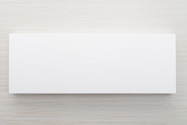 Caja blanca para maqueta