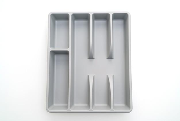Caja de cocina con cubiertos