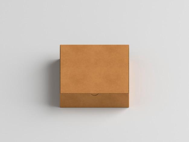 Caja minimalista de alta vista