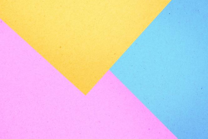 Caja de papel colorido textura de fondo abstracto, color pastel