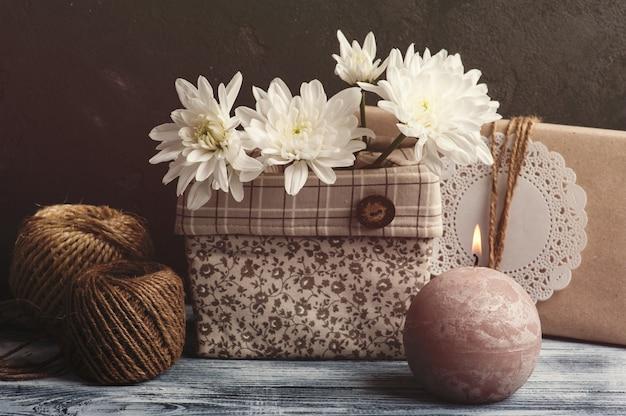 Caja de regalo artesanal