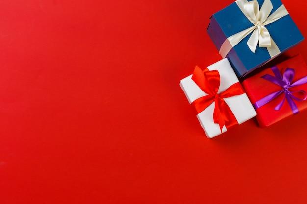 Caja de regalo en color