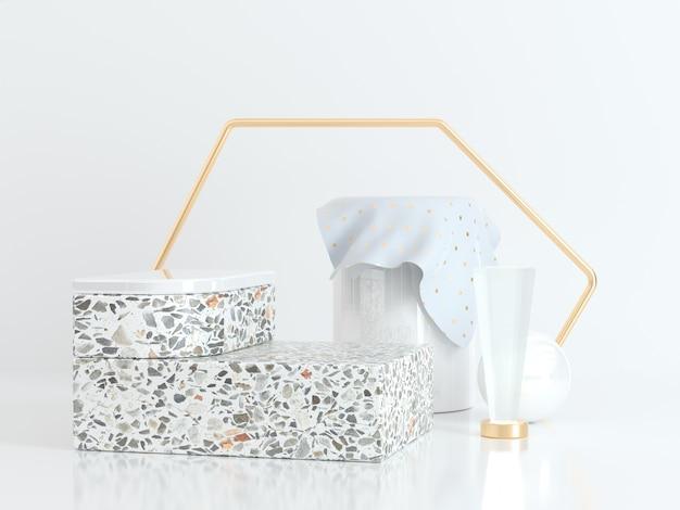 Cajas y contenedores de mármol.