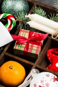 Cajas con regalos para navidad