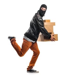 Cajas de retención de ladrones
