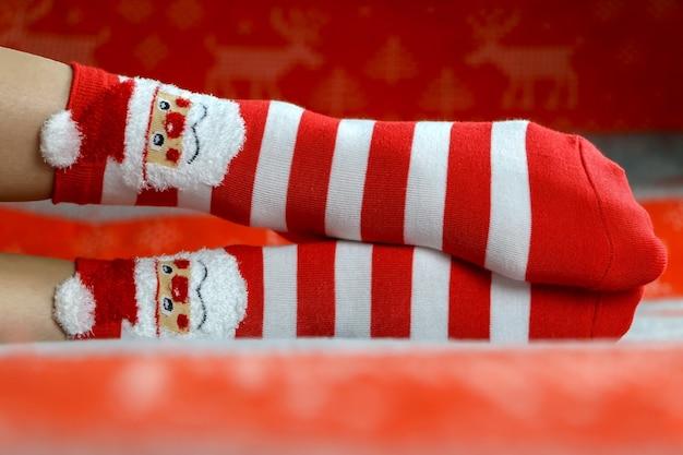 Calcetines de año nuevo