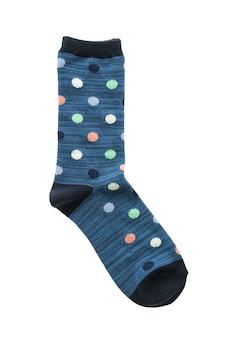 Calcetines rayado lindo fondo de dos