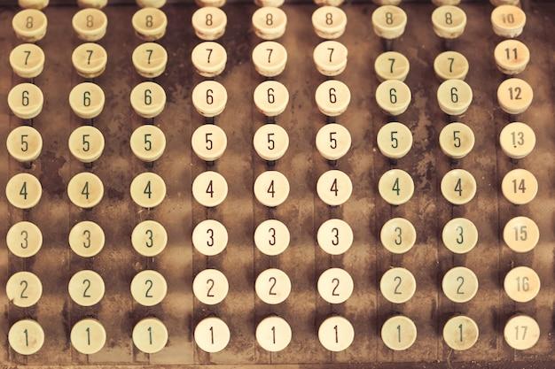 Calculadora de impuestos vieja.