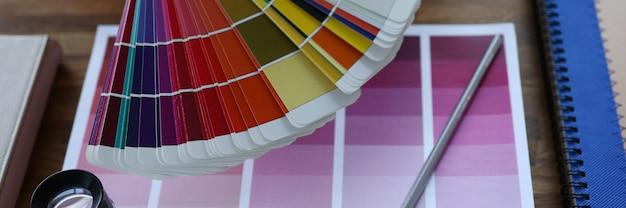 Calendario mes selección tendencia color publicidad concepto creativo