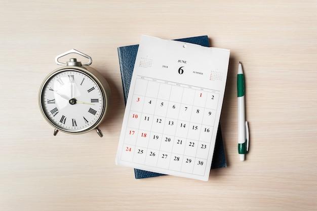 Calendario de trabajo