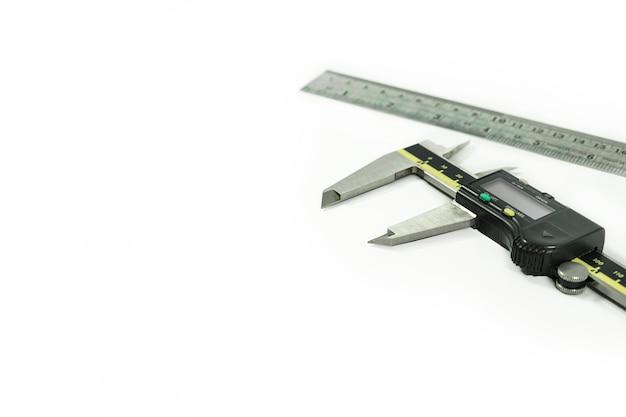 Calibrador y regla vernier electrónico digital
