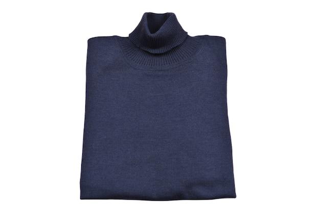 Cálidos suéteres de cuello alto de otoño o invierno.