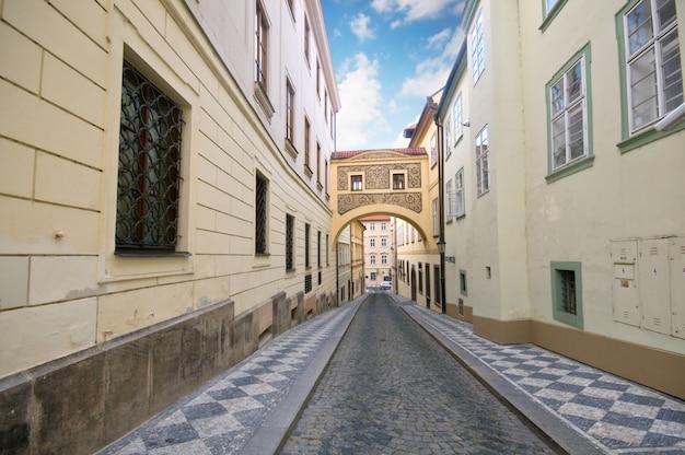 Calle adoquinada