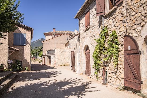 La calle medieval.